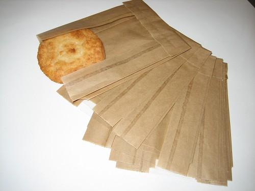 Kraft papier vensterzakjes 11cm x 15 5cm x 2x2 5 cm for Papieren vensterzakjes